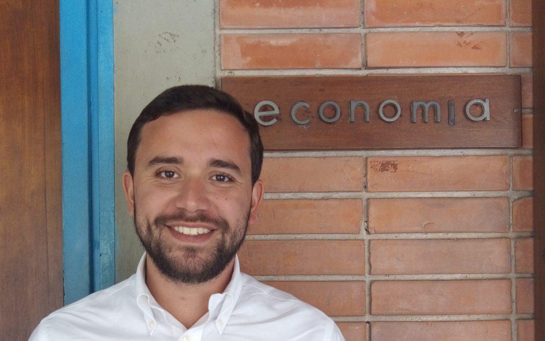 Sebastián Carreño, economista que se abre camino en el MIT