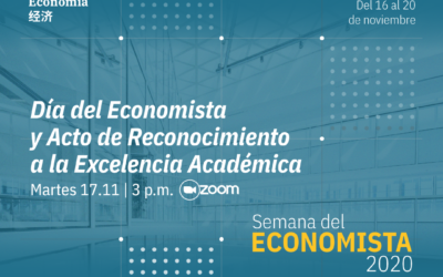 Escuela de Economía reconoció excelencia de estudiantes y profesores